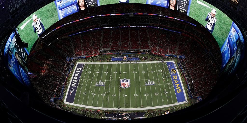 Mercedez Bens Stadium - Fonte: NFL
