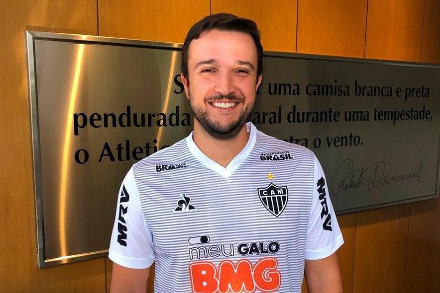 Lucas Batista, novo técnico do sub-17 do Atlético