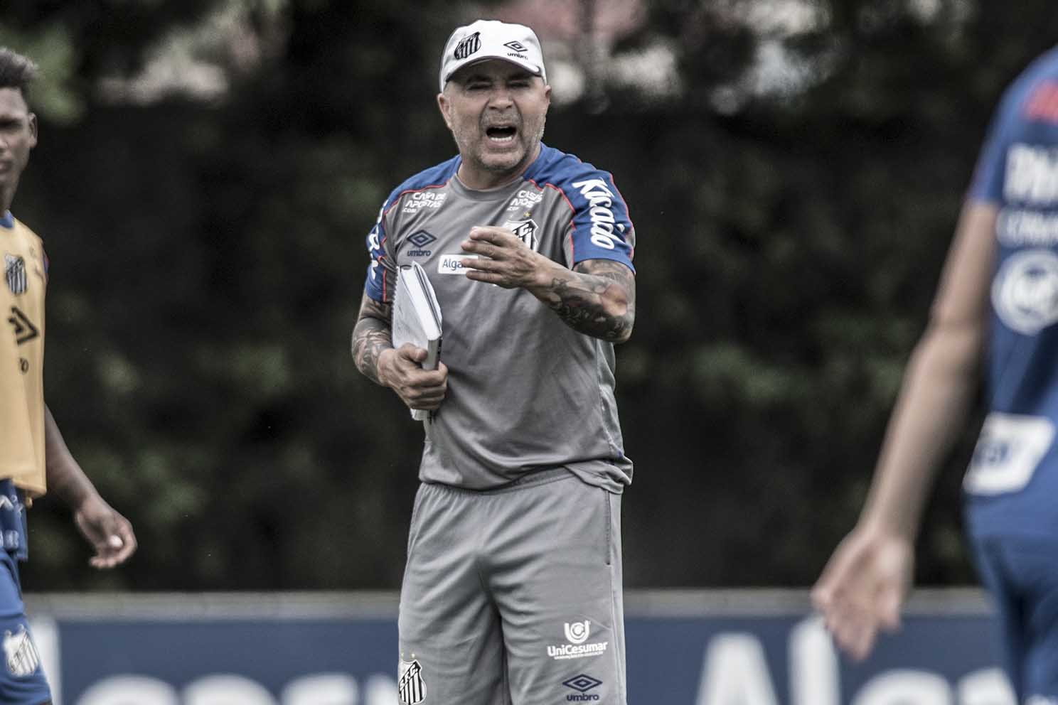 Sampaoli no Santos