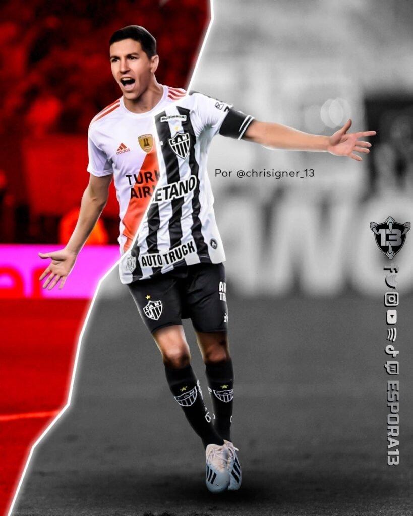 Espora 13 - Atlético - Galo - Atlético-MG - Nacho Fernández - Nacho é do Galo! Atlético anuncia a contratação do meia argentino Nacho Fernández, ex-River Plate