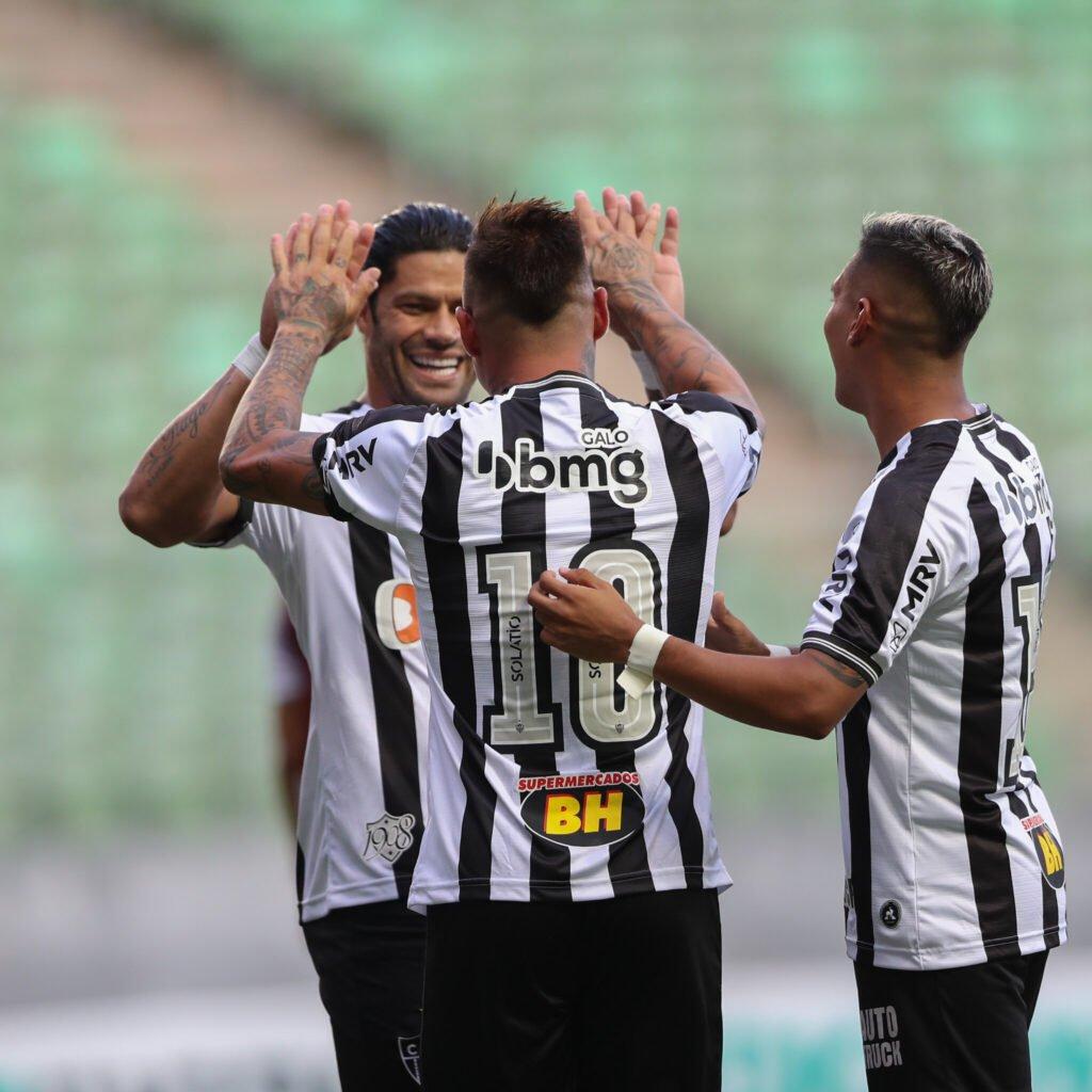 Espora 13 - Atlético - Galo - Atlético-MG -Líder absoluto com time alternativo. Sem dificuldades, Galo derrota o Patrocinense e se mantém na liderança do Mineiro