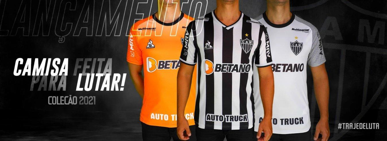 Espora 13 - Atlético - Galo - Atlético-MG - Atlético lança nova camisa e faz homenagem aos profissionais da saúde. Veja toda nova coleção do novo traje de luta do Galo