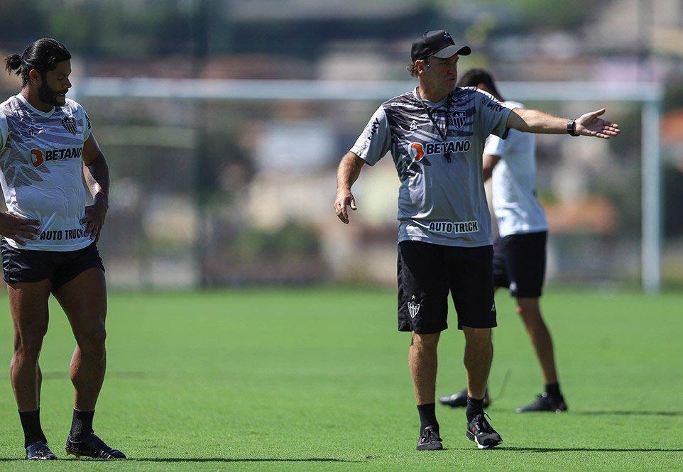 Espora 13 - Atlético - Galo - Atlético-MG - Dia D para o técnico Cuca! Galo enfrenta o América de Cali pela Copa Libertadores