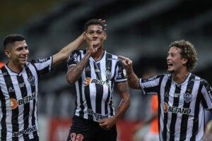 Espora 13 - Atlético - Galo - Atlético-MG - Galo goleia o La Guaira e concretiza sua melhor campanha em fases de grupos da Libertadores