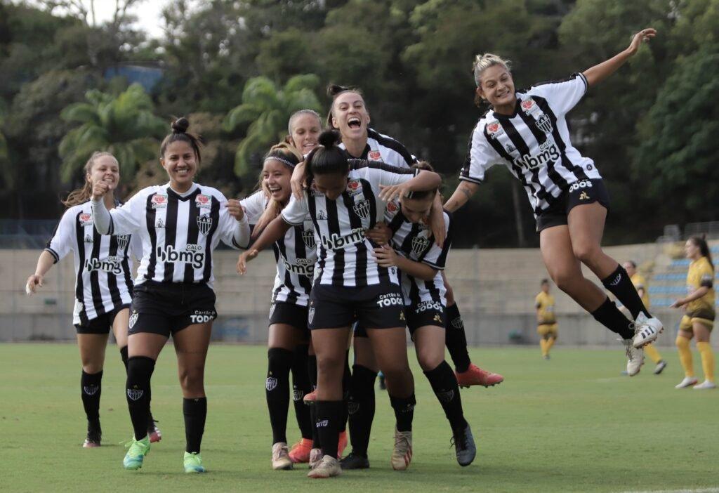 Espora 13 - Atlético - Galo - Atlético-MG - Estreia com direito a goleada! Galo vence o Aliança-GO por 4 a 0 na Série A2 do Brasileirão Feminino