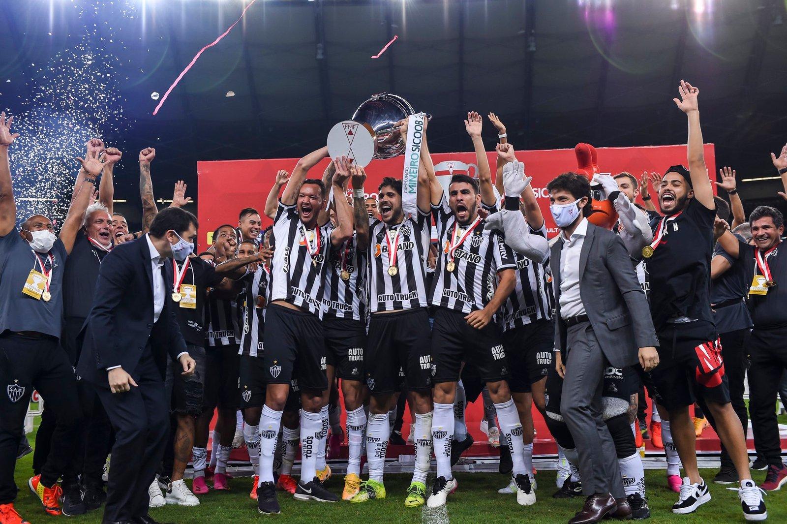 Espora 13 - Atlético - Galo - Atlético-MG - BICAmpeãooooooooo!!! Pela 46ª vez, Galo é CAMpeão do Campeonato Mineiro!