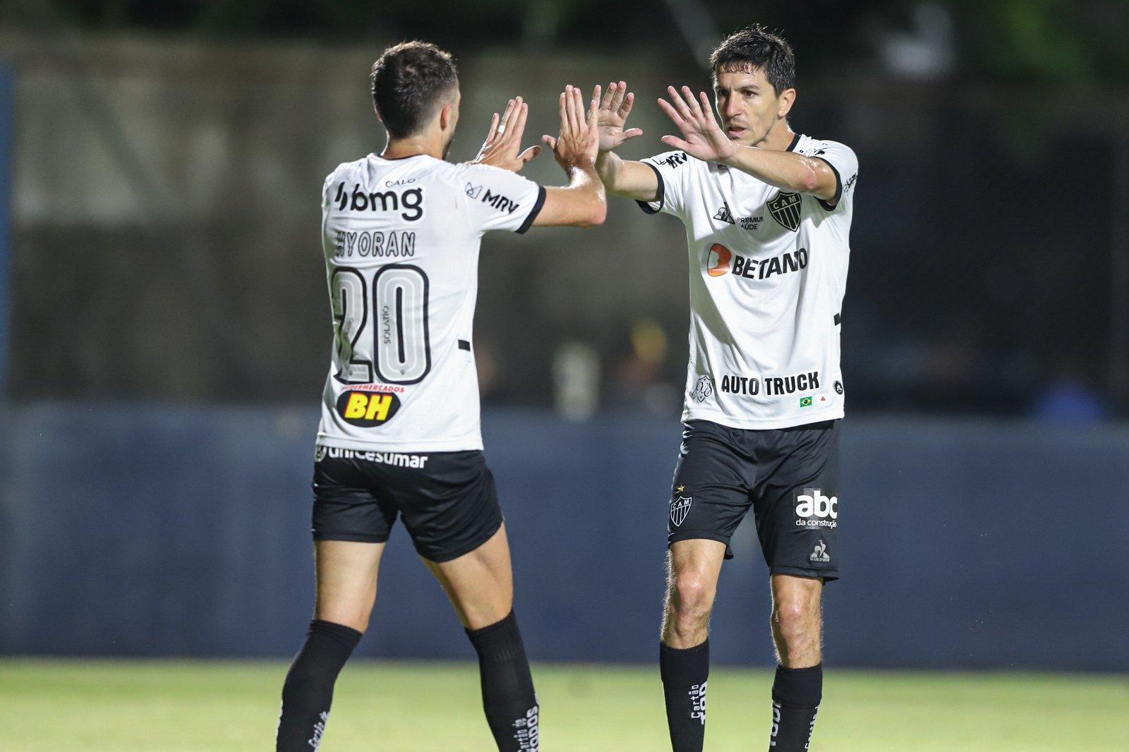 Espora 13 - Atlético - Galo - Atlético-MG - Embalados por Nacho e Hulk, Galo vence o Remo pela Copa do Brasil