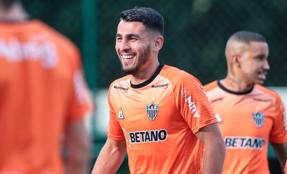 Espora 13 - Atlético - Galo - Atlético-MG - Destaque na Copa América, Junior Alonso volta a ficar a disposição do técnico Cuca