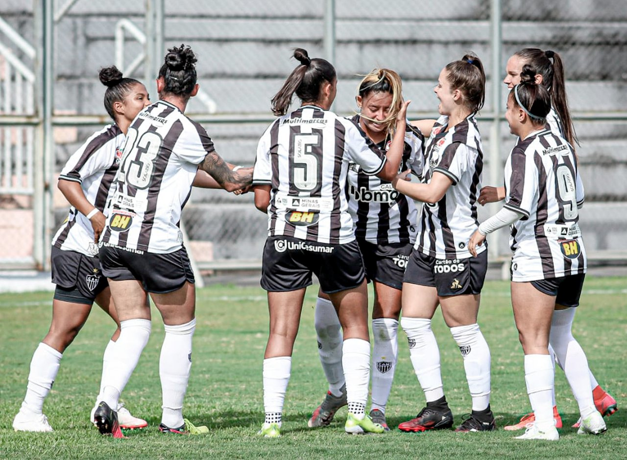 Espora 13 - Atlético - Galo - Atlético-MG - A dois jogos do acesso! Galo Futebol Feminino terá clássico contra o América-MG nas quartas para alcançar o acesso para a Série A1