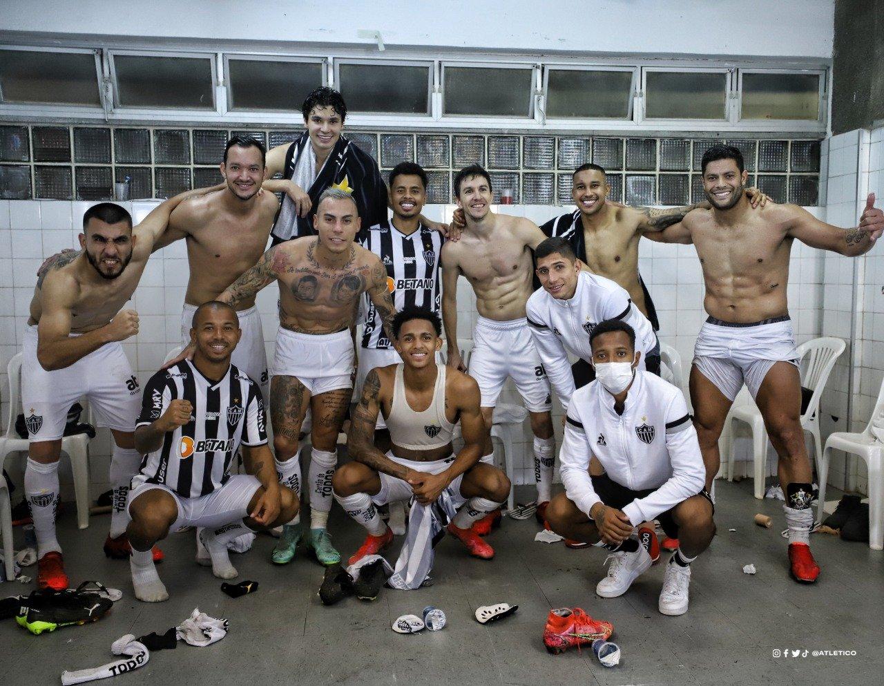 Espora 13 - Atlético - Galo - Atlético-MG - Com sofrimento! Galo perde invencibilidade, mas elimina o Bahia na Copa do Brasil